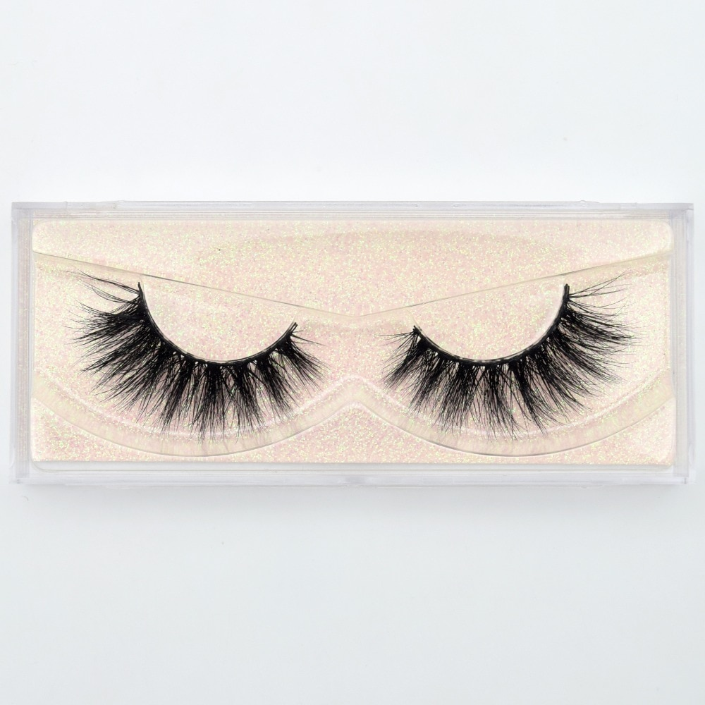 Reusable Natural 3D Mink Eyelashes