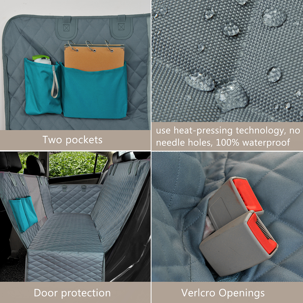 Quilted Pet Carrier for In-Car Use