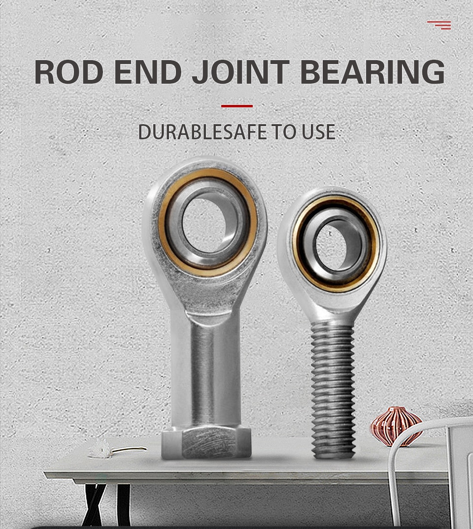 SI SIL 5 6 8 10 12 14 16 18 20 22 25 TK metric male left, female  right hand thread rod end Joint bearing